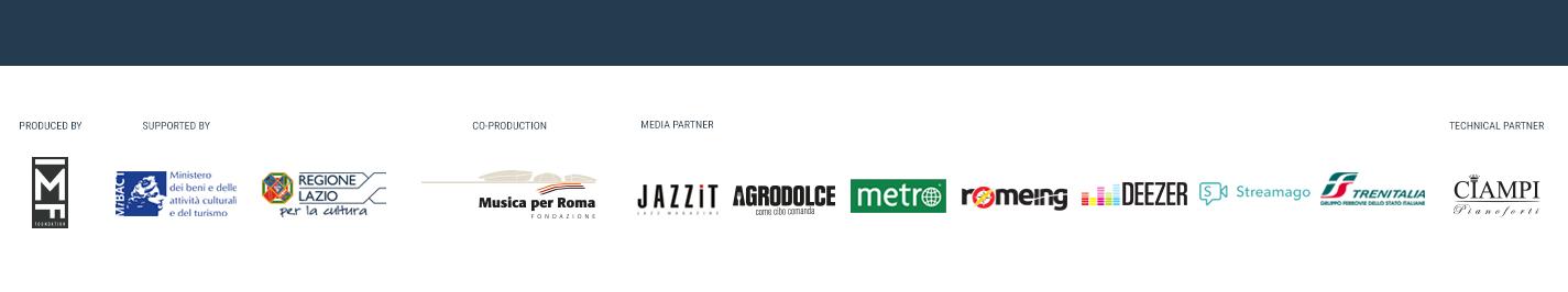 Footer Teatro Villa Torlonia Roma Jazz Festival Sponsor Partner