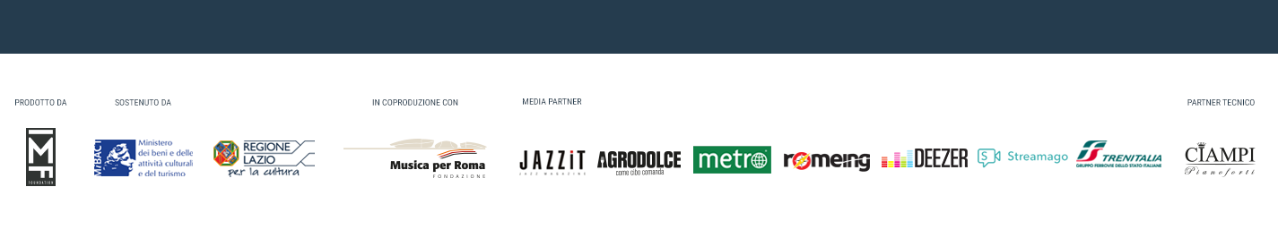 Footer Roma Jazz Festival Sponsor Partner