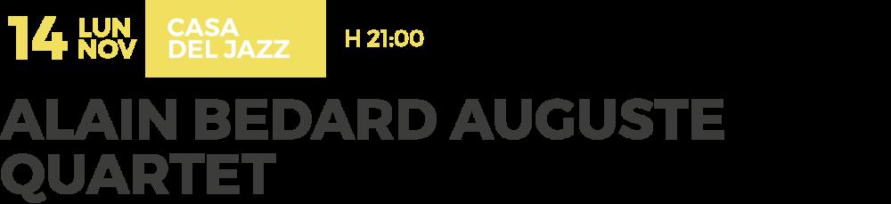 nov-06-casa-jazz-alain-bedard-auguste-quartet